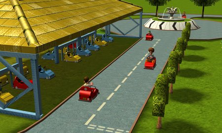 CLICK ME! LEGOLAND's Driving School is now available here on CLLW, recreated in RCT3!